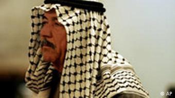 Ali Hassan el Madschid vor Gericht (Foto: AP)