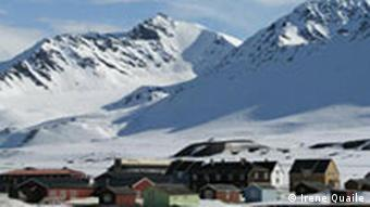 A reserach base on the Norwegian island of Spitsbergen