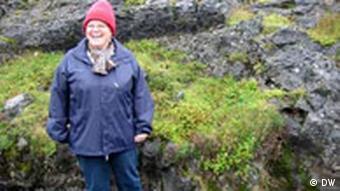 Sigubjörg Karlsdottir ist den Elfen auf der Spur
