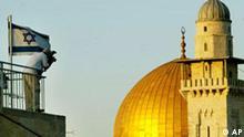 Israel Palästinenser Jerusalem Symbolbild Wiedervereinigung Annektierung