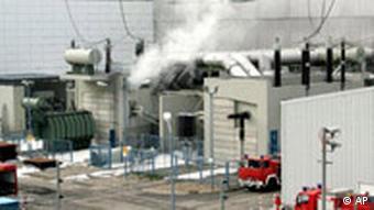 Deutschland Brand in Atomkraftwerk Krümmel