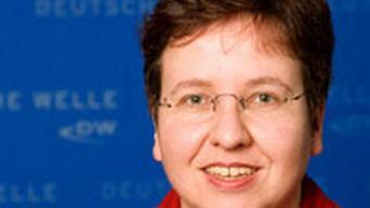 DW's Editor-in-Chief, Ute Schaeffer