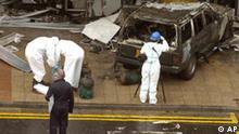 Terroranschlag in Schottland, Kriminaltechnologen am Flughafen Glasgow