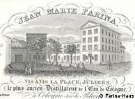 Casa Farina en 1810.