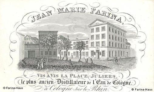 Das Farina Haus 1810