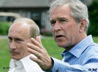 Putin y Bush, el juego de las apariencias.