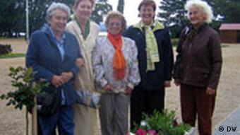 Quelques membres du collectif Des femmes pour le lac Balaton.