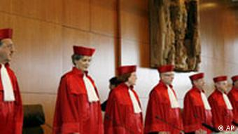 Members of the German constitutional court