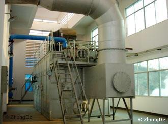 Usina para incineração de lixo doméstico com capacidade de até 100 ton/dia