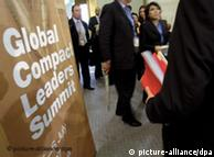 Global Compact: promesas sociales y ecológicas.