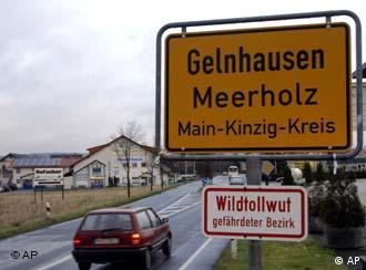 Entrada de la ciudad de Gelnhausen.