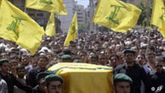 Hisbollah-Demonstration (2004), Quelle: AP