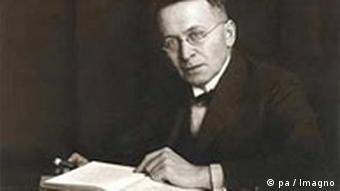 Kulturkritiker Karl Kraus (1874-1936)