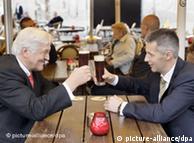 Steinmeier se enteró de la noticia en su visita a Lituania.