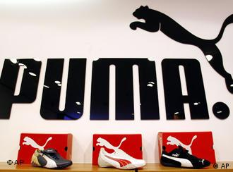 Puma-Logo (AP Photo/Christof Stache)