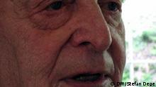 Philipp Freiherr von Boeselager, der letzten noch lebenden Widerständler des 20. Juli 1944 (mißglücktes Stauffenberg-Attentat auf Hitler). Foto: DW/Stefan Dege, Juli 2007