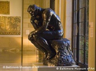 مجسمهی انسان متفکر، کاری از آگوست رادین
