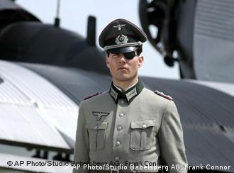Tom Cruise, dressed in a Wehrmacht uniform for the film Valkyrie