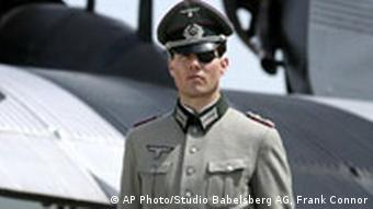 Tom Cruise dressed as Count Stauffenberg for a new movie