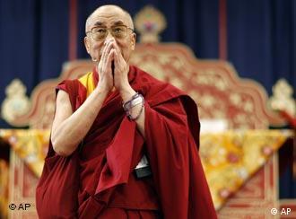 达赖喇嘛在汉堡