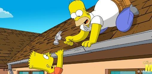 Homer i Bart Simpson (AP/Fox)
