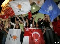 Привърженици на партията на Ердоган