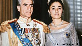 Schah Reza Pahlavi und seine Gattin Kaiserin Farah Diba (Foto:dpa)