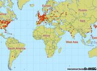 Mapa reactores nucleares en el mundo (Fuente: http://www.dw-world.de/image/0,,2704992_1,00.jpg)