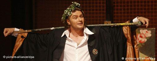 A scene from the new production of Meistersinger