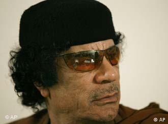 Muammar Gaddafi (Quelle: AP)