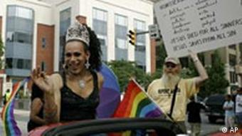 Gay Pride Parade in Harrisburg, USA