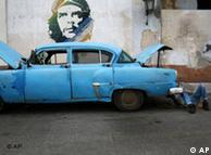 Ché Guevara, omnipresente en Cuba.