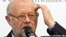 Jürgen Flimm, Intendant der Salzburger Festspiele
