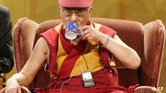 Der Dalai Lama bei seiner Deutschlandreise in Freiburg