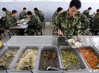 士兵的伙食待遇也反映了军队的实力
