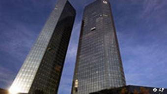 The Deutsche Bank towers