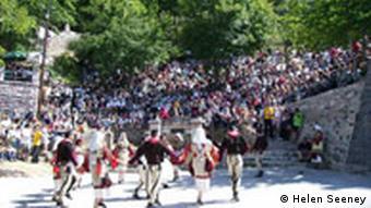 Des milliers de curieux se rendent chaque année à Galichnik pour assister à ce mariage hors du commun.