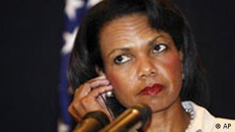 Nahost-Reise Condoleezza Rice