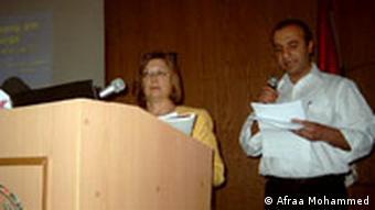 Rechtsanwältin Barbara Franke, Die syrisch-deutschen Konferenz, Damaskus, Syrien