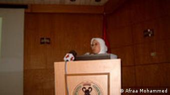 Dr. Safa Atani, Prof. an der Universität Damaskus, Syrien
