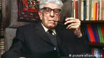 Der deutsche Philosoph Ernst Bloch