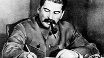 Former Soviet leader Joseph Stalin