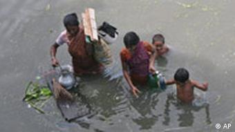 Überflutungen in Bangladesch