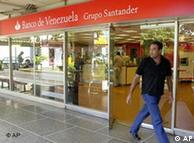 Banco de Venezuela, filial  del grupo español Santander