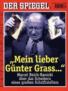 Das Titelbild des Hamburger Nachrichtenmagazins Der Spiegel 34/1995 zeigt den Literaturkritiker Marcel Reich-Ranicki. (Foto: Der Spiegel)