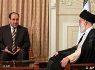 به گفته ایاد  علاوی، گفتوگوهای مالکی با مقامات ایرانی، مداخله مستقیم جمهوری اسلامی  در سیاست عراق محسوب میشود