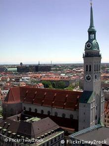 Kirchturm St. Peter, München