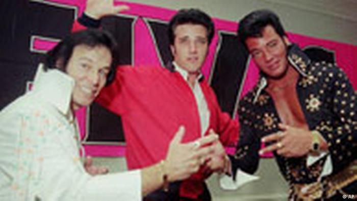 Elvis impersonators (AP)