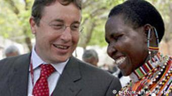 Kenia Deutschland UN-Klimakonferenz in Nairobi Achim Steiner Regenwasser