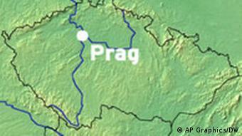 Karte Terra Incognita Prag